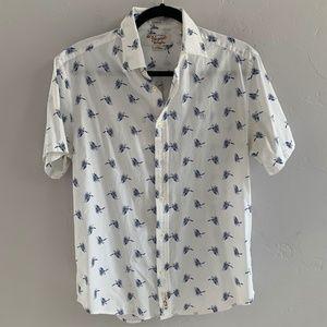 Original Penguin Classic Fit Button Down Shirt M